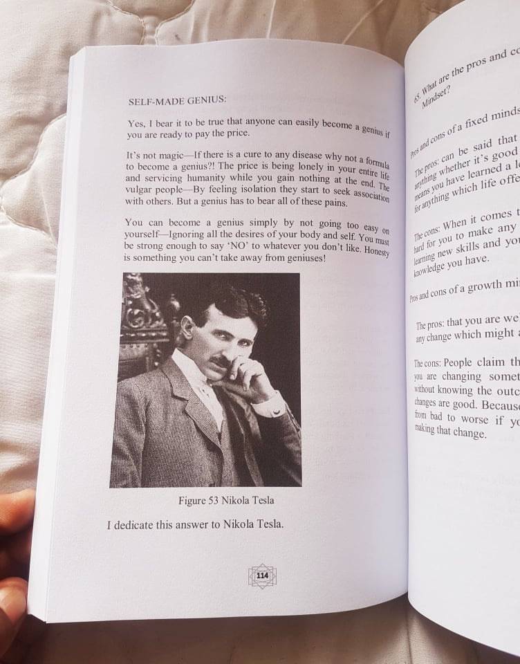 Inside the book